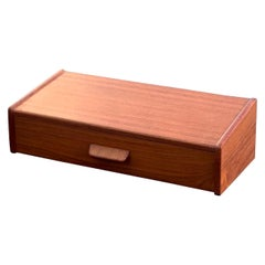 Midcentury Danish Teak Nightstand by Poul Volther