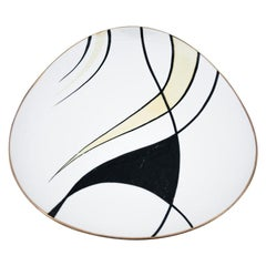 Midcentury Decorative Plate Bavaria Johann Seltmann, Germany