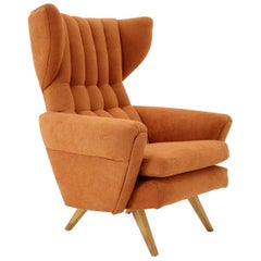 Midcentury Design Armchair / Czechoslovakia 1950s 'Renovated'