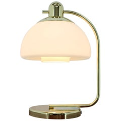Midcentury Design Brass Table Lamp, Germany, 1980s