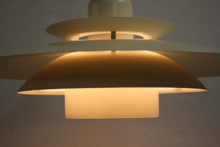 Midcentury Design Scandinavian Pendant Light, 1970s 3