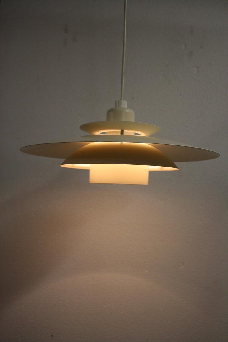 Scandinavian Modern Midcentury Design Scandinavian Pendant Light, 1970s