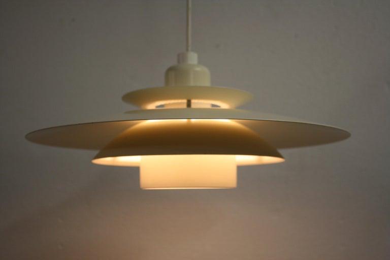 Danish Midcentury Design Scandinavian Pendant Light, 1970s