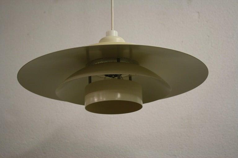 Late 20th Century Midcentury Design Scandinavian Pendant Light, 1970s