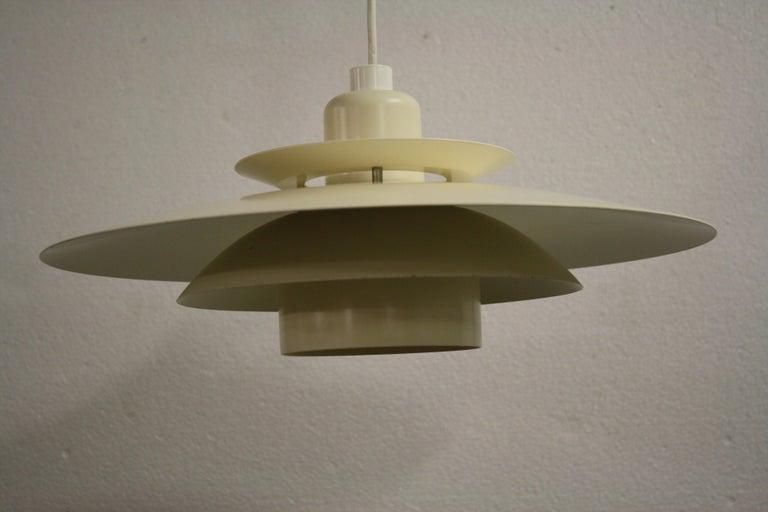 Midcentury Design Scandinavian Pendant Light, 1970s 2