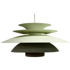 Midcentury Design Scandinavian Pendant Light, 1970s