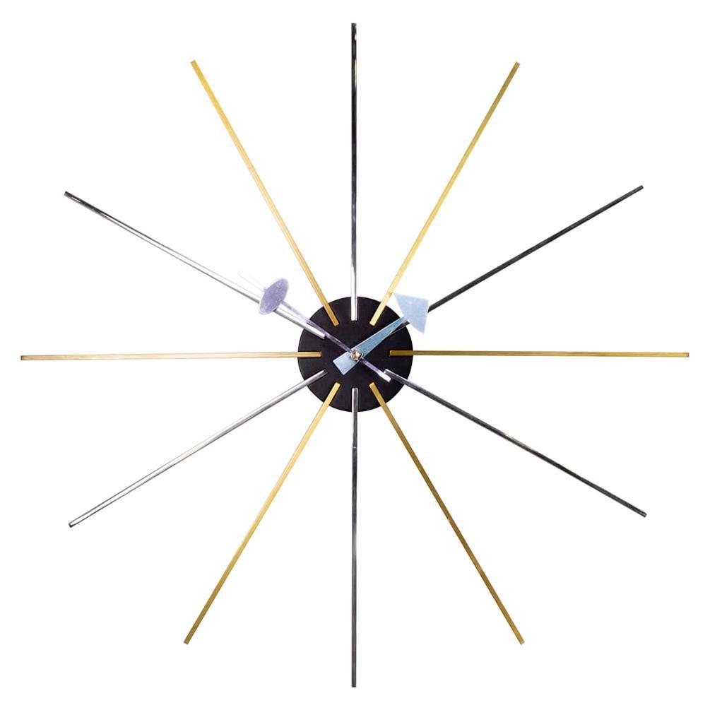 Midcentury Design 'star' Wall Clock