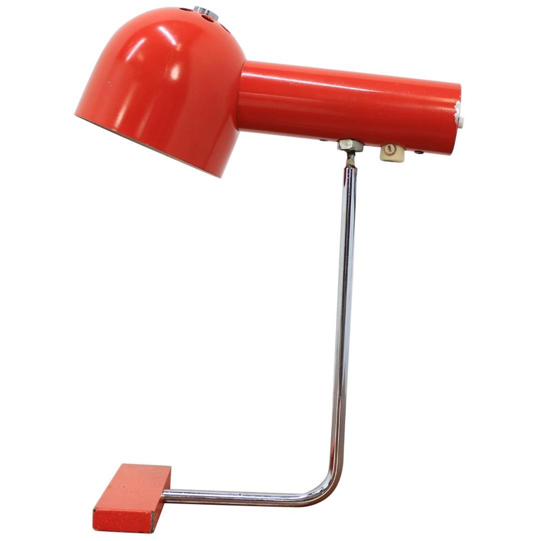 Midcentury Design Table Lamp by Josef Hůrka
