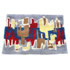 Midcentury Design Wool Carpet in Ege Rya Style, Denmark, 1970