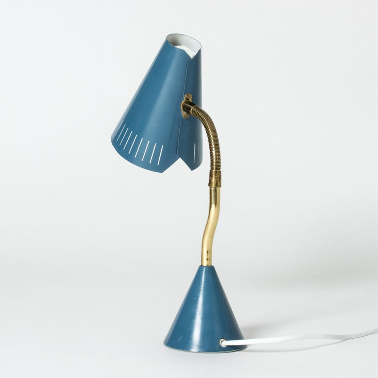 Midcentury Desk Lamp from Falkenbergs Belysning In Good Condition For Sale In Stockholm, SE