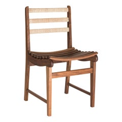 Midcentury Dining Chair by Michael van Beuren Handcrafted in Mexico by Luteca