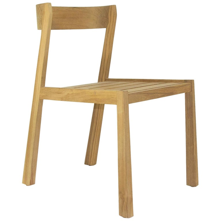 Midcentury Dining Chair, Teak For Sale