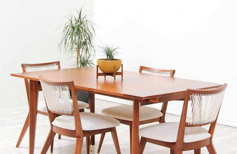 Midcentury Dining Chairs by John Keal for Brown Saltman For Sale 8
