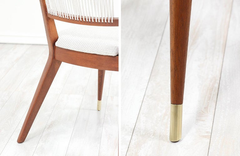Midcentury Dining Chairs by John Keal for Brown Saltman For Sale 13