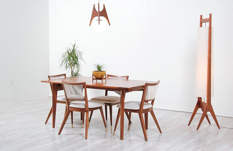 Midcentury Dining Chairs by John Keal for Brown Saltman For Sale 1