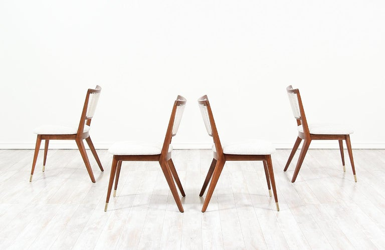 Midcentury Dining Chairs by John Keal for Brown Saltman For Sale 3