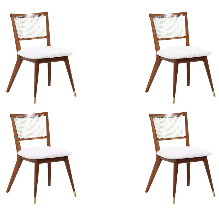 Midcentury Dining Chairs by John Keal for Brown Saltman For Sale