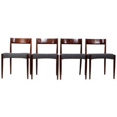 Midcentury Dining Chairs, Set of Four