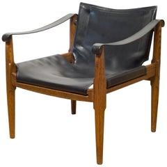Midcentury Douglas Heaslett for Brown Saltman Sling Chair, circa 1950
