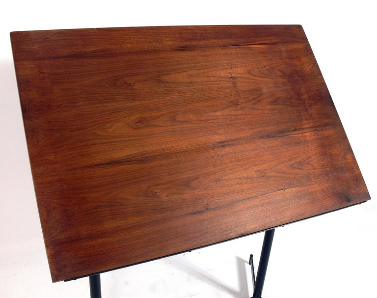 American Midcentury Drafting Table or Desk For Sale