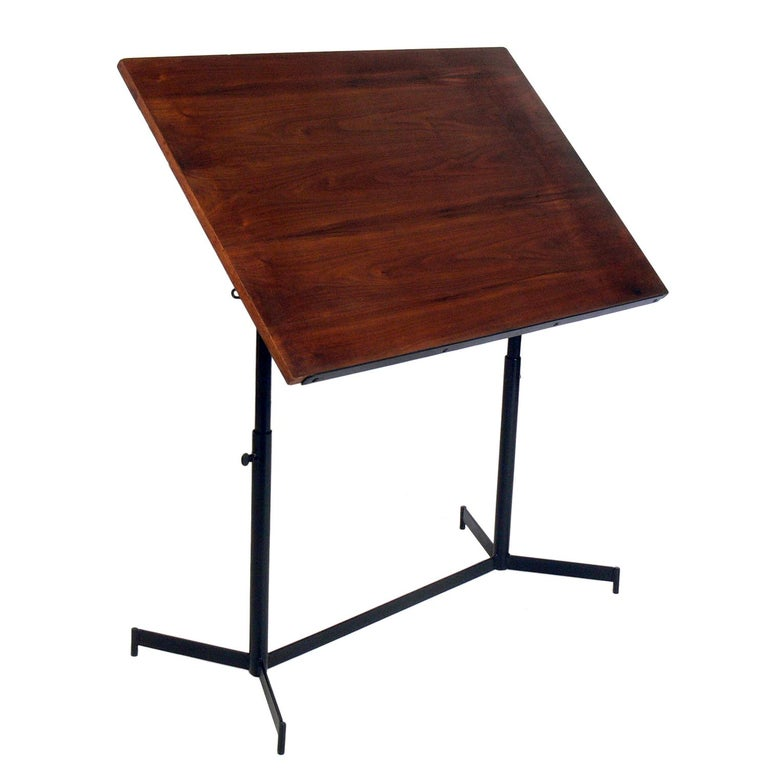 Midcentury Drafting Table or Desk For Sale