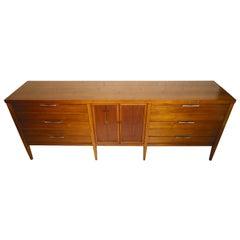 Midcentury Dresser with Rosewood Inlay