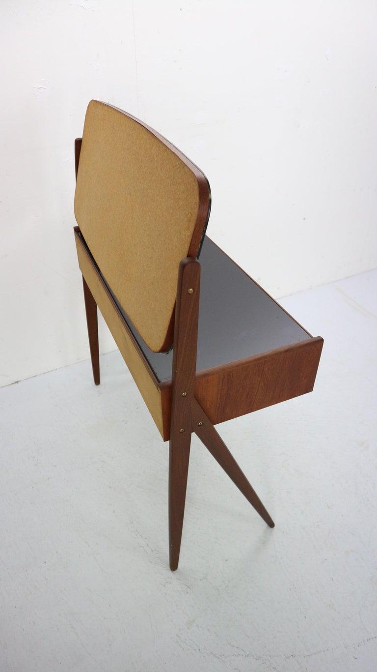 Mid-20th Century Midcentury Dressing, Make Up Table by Arne Vodder, 1950s, Denmark For Sale