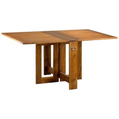 Midcentury Drop-Leaf Gateleg Pembroke Table
