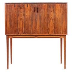 Midcentury Dry Bar in Rosewood, Danish Design, 1960s