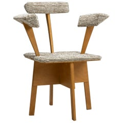 Midcentury Dutch Plywood Chair, the Netherlands, 1940s