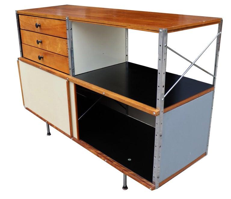 Wood Midcentury Eames ESU 200 for Herman Miller For Sale