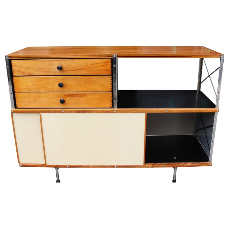 Charles and Ray Eames for Herman Miller Eames storage unit, 1951, offered by Idealforms