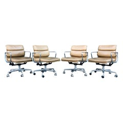 Midcentury Eames for Herman Miller Soft Pad Chairs
