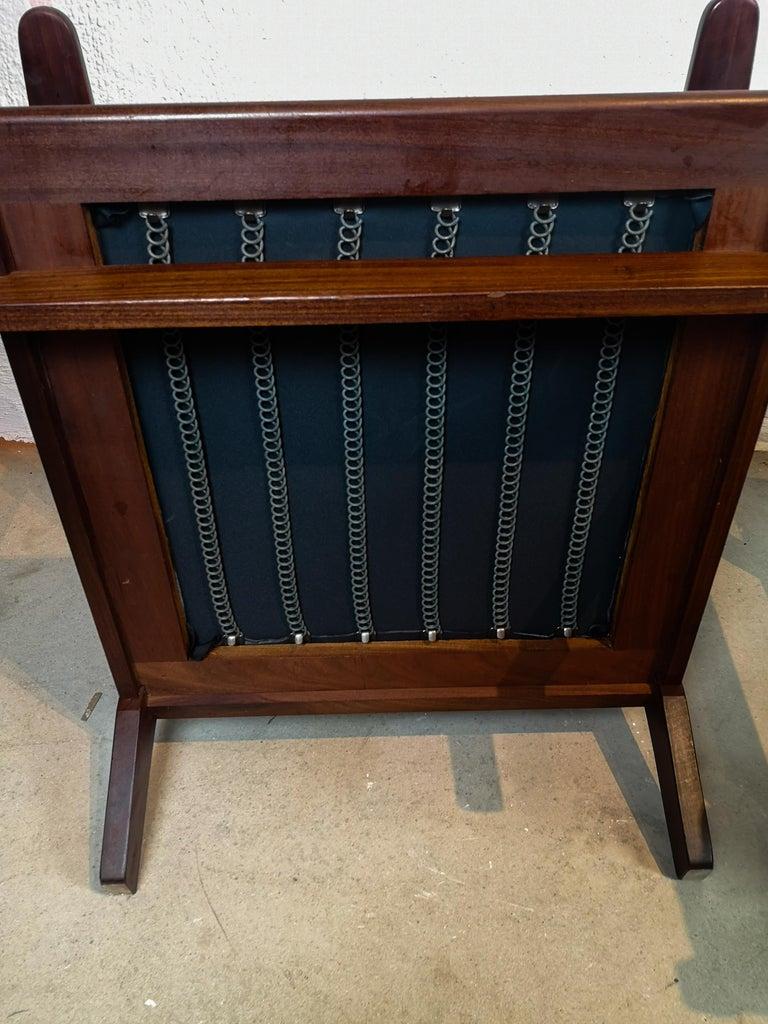 Midcentury Easy Chairs Model Ge-88 Massive Teak Wood GETAMA, Denmark, 1960s 5