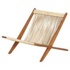 Midcentury Easy Chair by Jørgen Høj and Poul Kjærholm, Denmark, 1952