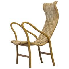 "Midcentury Easy Chair ""Torparen"" by G. A. Berg, Swedish Modern"