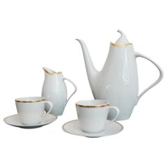 Midcentury Elka Coffee Set by Jaroslav Ježek for Pirkenhammer, 1958