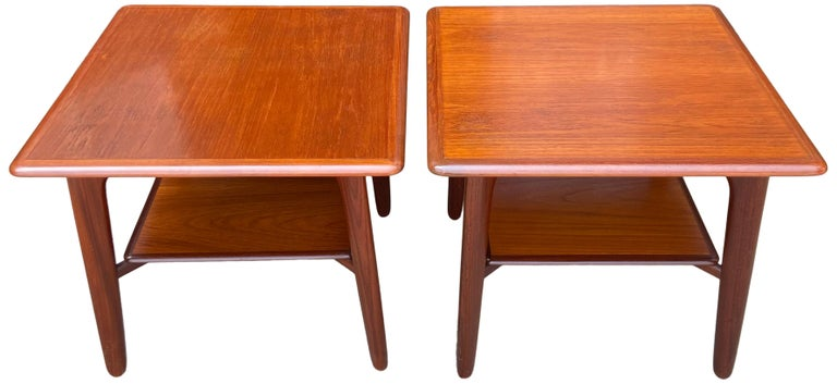 Mid-Century Modern Midcentury End tables or Nightstands by Svend Madsen For Sale