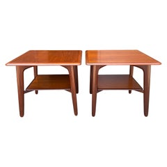 Midcentury End tables or Nightstands by Svend Madsen