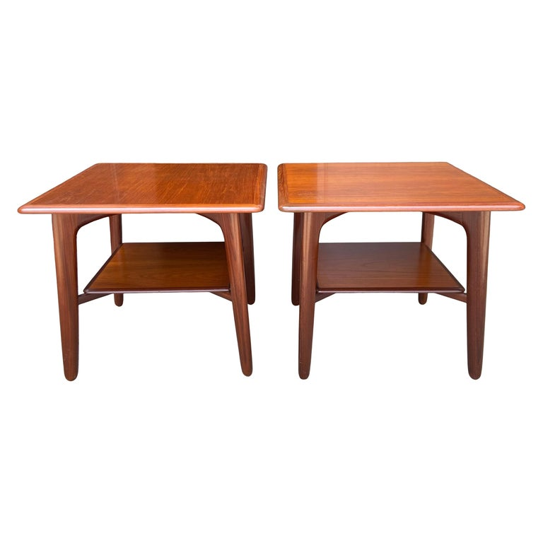 Midcentury End tables or Nightstands by Svend Madsen For Sale