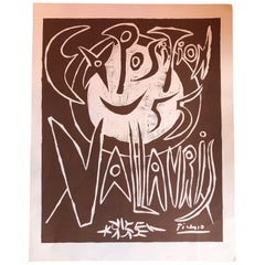 "Midcentury ""Exposition Vallauris"" Poster by Pablo Picasso"