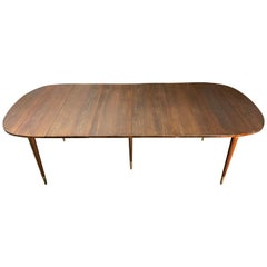 Midcentury Extension Drop-Leaf Dining Table by John Widdicomb