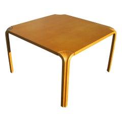 """35.5"""" Fan Leg Side Table by Alvar Aalto"""
