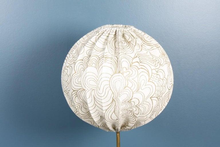 Scandinavian Modern Midcentury Floor Lamp by Hans Agne Jacobsson, Made in Sweden For Sale