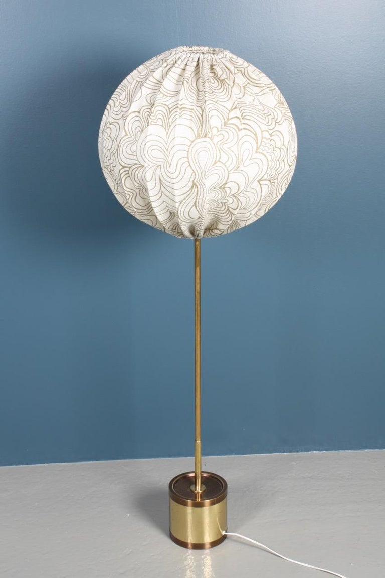 Swedish Midcentury Floor Lamp by Hans Agne Jacobsson, Made in Sweden For Sale