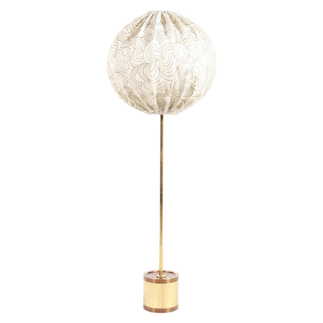 Midcentury Floor Lamp by Hans Agne Jacobsson, Made in Sweden