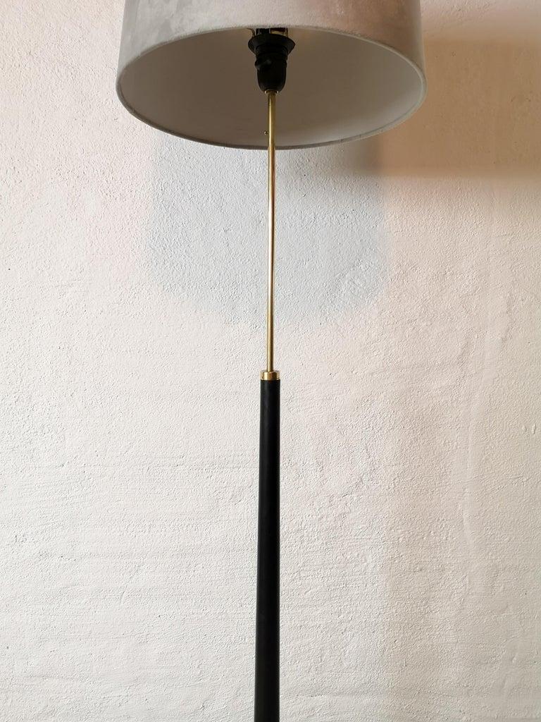 Midcentury Floor Lamp, Model G-34, Bergboms, Sweden, 1960s In Good Condition For Sale In Langserud, SE
