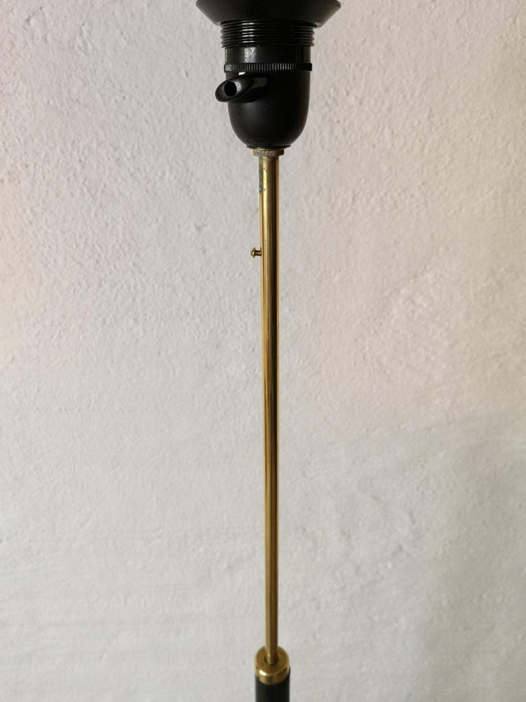 Midcentury Floor Lamp, Model G-34, Bergboms, Sweden, 1960s For Sale 1