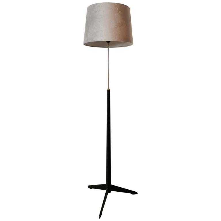 Midcentury Floor Lamp, Model G-34, Bergboms, Sweden, 1960s For Sale