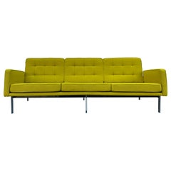 Midcentury Florence Knoll Sofa #57 Parallel Bar System Newly Restored
